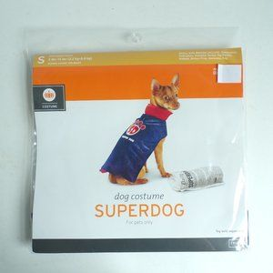 Dog Super Dog Halloween Costume Small 5 -15 lbs